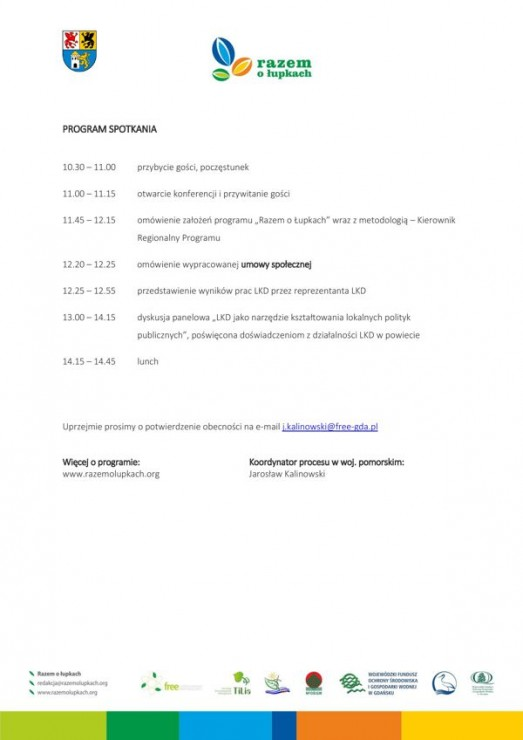 Konferencja Podsumowująca Realizację Programu Razem O łupkach